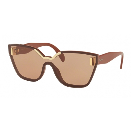 Prada PR 16TS ZXB1P1 | Frame: brown | Lenses: brown