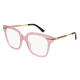 Gucci GG0284O 005 | Frame: pink gold