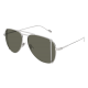 Saint Laurent SL 193 T CUT 001 | Frame: silver | Lenses: grey