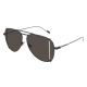 Saint Laurent SL 193 T CUT 002 | Frame: black | Lenses: grey