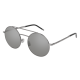 Saint Laurent SL 210 003 | Frame: ruthenium | Lenses: silver mirrored