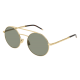 Saint Laurent SL 210 004 | Frame: gold | Lenses: green