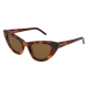 Saint Laurent SL 213 LILY 006 | Frame: havana | Lenses: brown