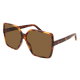 Saint Laurent SL 232 BETTY 002 | Frame: havana | Lenses: brown