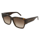 Saint Laurent SL M21/F 002 | Frame: havana | Lenses: brown gradient